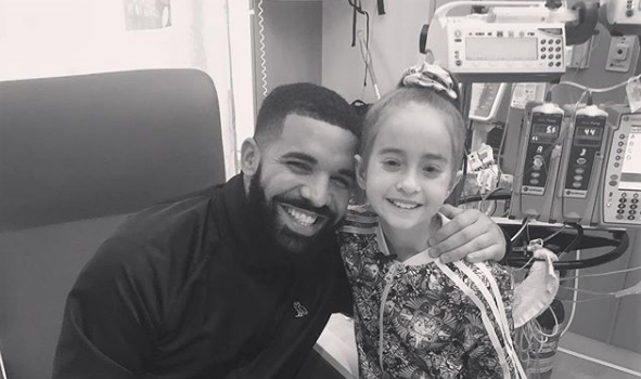 "Drake Visits Sick Fan In Hospital After Her ""KiKi Challenge"" Goes Viral"