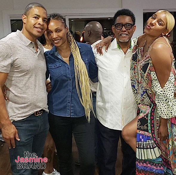 NeNe Leakes Double Dates w/ Cynthia Bailey & Her New Boyfriend