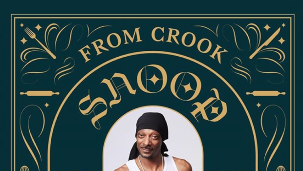 "Snoop Dogg Releasing New Cookbook ""From Crook To Cook"""