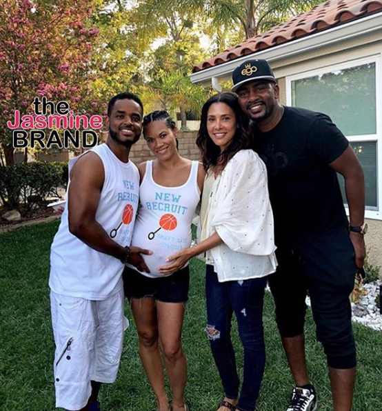 Larenz Tate & Wife Expecting Baby # 4 [Photo]
