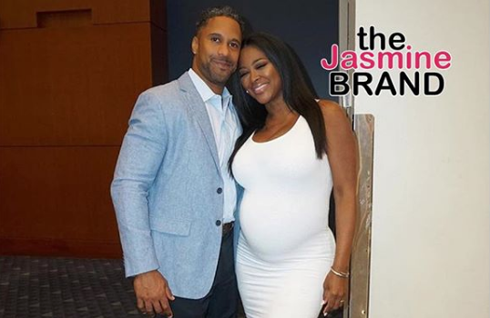 Kenya Moore's Baby Bump On Full Display w/ Hubby [Photos]