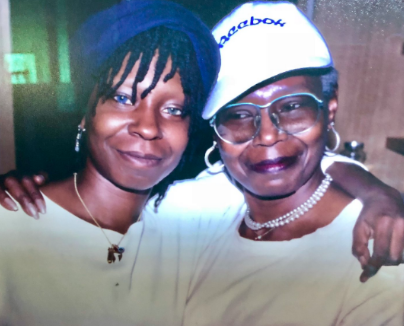 Whoopi Goldbert & Late Mother Are Twinning In Sweet Photo