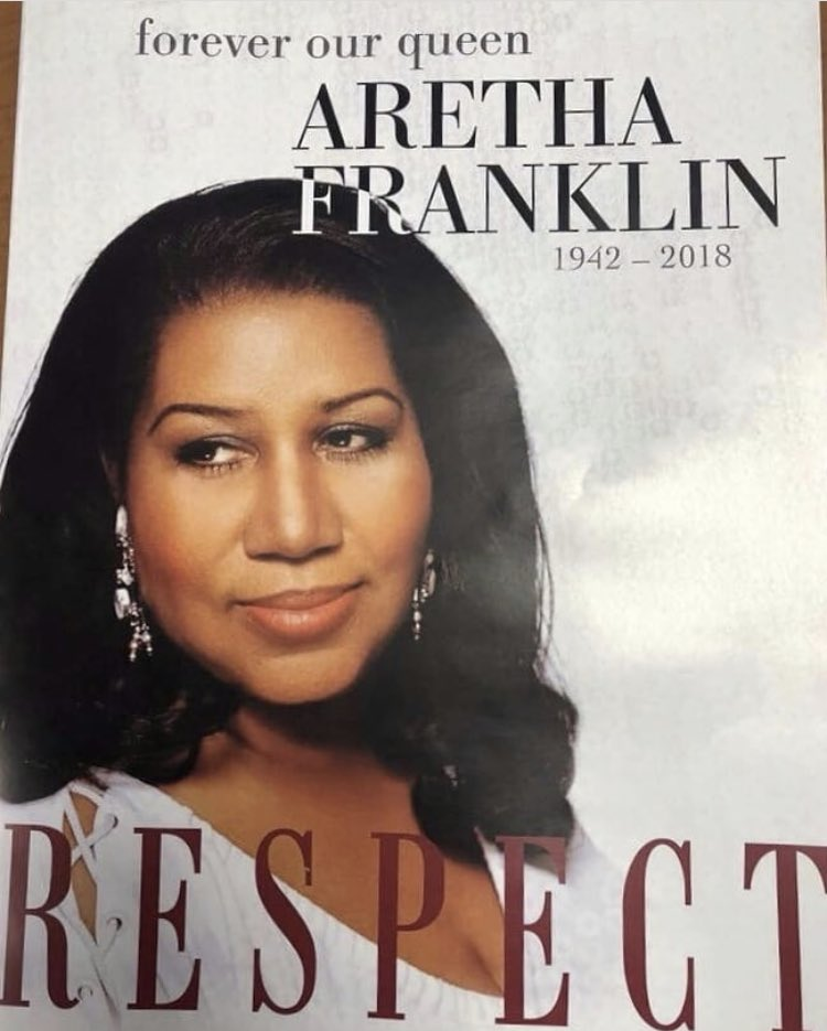 aretha franklin alleged funeral program revealed thejasminebrand
