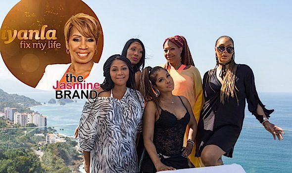 EXCLUSIVE: Braxton Sisters Tap Iyanla Vanzant To Help w/ Family Drama, Amidst Sisters Quitting 'Braxton Family Values'