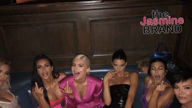 Kylie Jenner Celebrates Her 21st Birthday In LA [PICS]