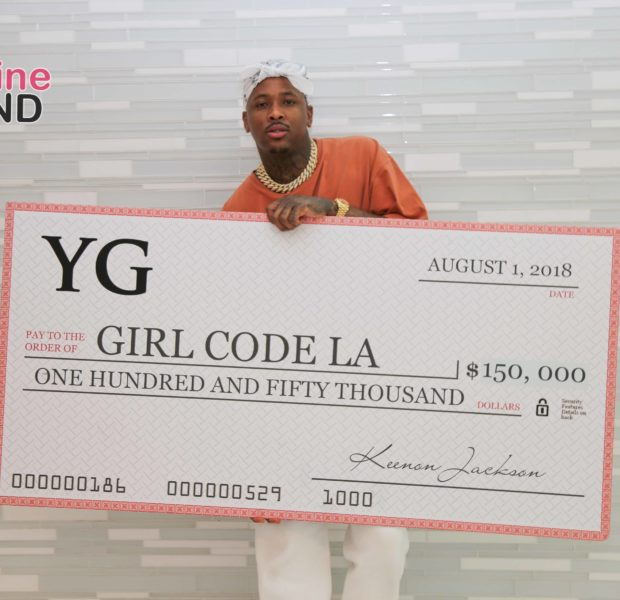 YG Donates $150,000 To Girl Code LA To Help Expose Young Women To Computer Science