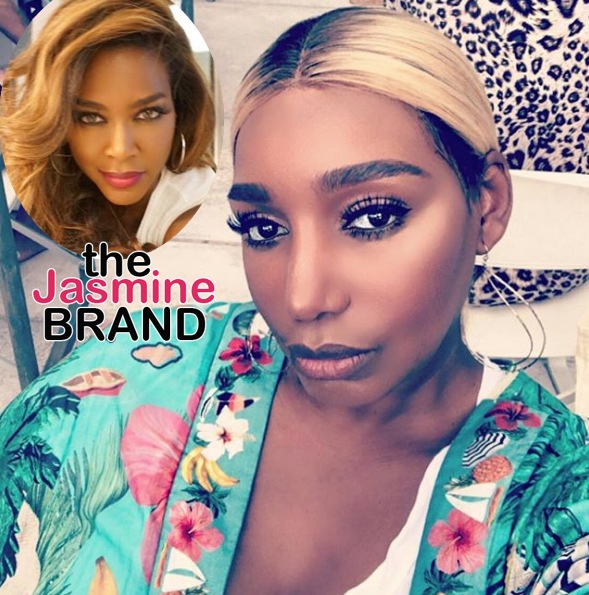 "Nene Leaks Is ""Booked And Busy"" Amidst Kenya Moore's Claims She Tried To Spit On Her"