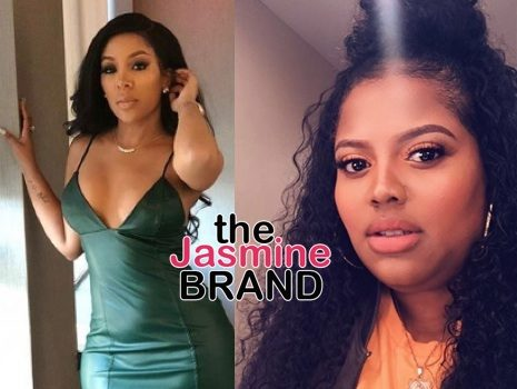 K. Michelle Pressing Charges Against Love & Hip Hop Cast Mate For Throwing Drink & Cup At Her Face