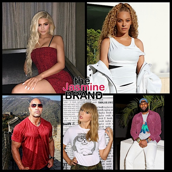 Kylie Jenner Makes More Money Than Beyoncé By the Hour + Find Out How Much LeBron James, Taylor Swift & The Rock Make