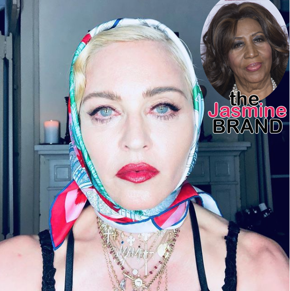 "Madonna Responds To Backlash Over Aretha Franklin Tribute – ""People Are So Quick To Judge"""