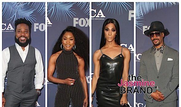Lil Rel Howery, Sinbad, Malcolm Jamal Warner, Angela Bassett, MJ Rodriguez & Damon Wayans Attend TCAs [Celebrity Photos]