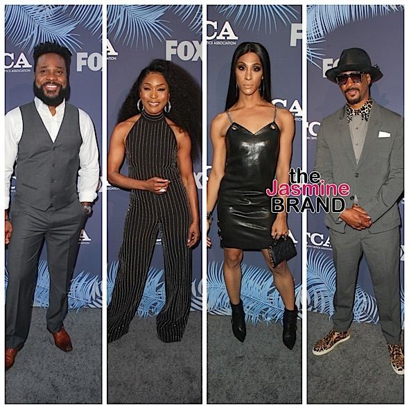 Lil Rel Howery, Sinbad, Malcolm Jamal Warner, Angela Bassett, MJ Rodriguez & Damon Wayans Attend TCAs [Celebrity Photos]