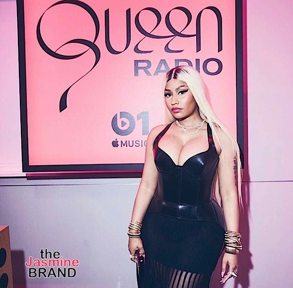 Nicki Minaj Burst Into Tears, Cries On Queen Radio: I Hate F*ck*ng Looking Stupid Crying!