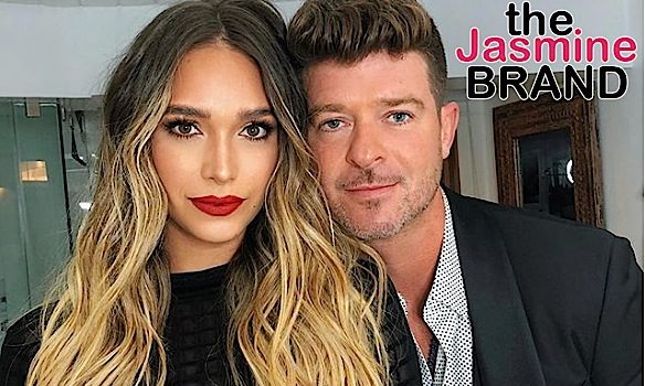 Robin Thicke's Girlfriend Defends Being Pregnant w/ Singer's 2nd Child – Women Don't Need To Be Married Before Having Kids!