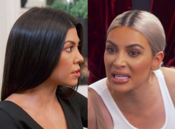 b24774833d Kim Kardashian Tells Sister Kourtney To Shut The F**k Up – You're The Least  Interesting To Look At