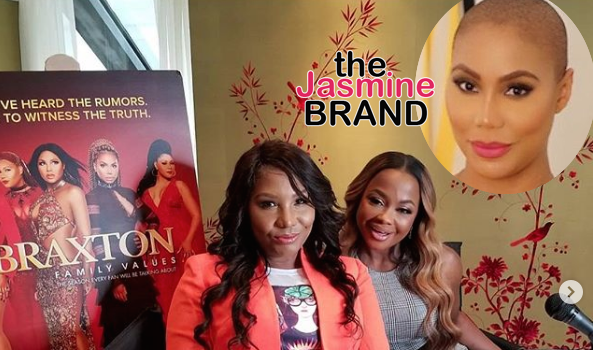 Phaedra Parks Joins Braxton Family Values, Tamar Braxton Responds – She's Not A Braxton, No One's Watching!