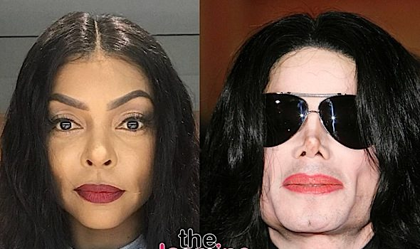 Taraji P. Henson MUA Explains Why Actress Resembles Michael Jackson