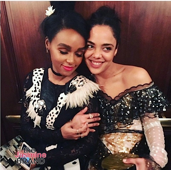 Tessa Thompson Explains Relationship w/ Janelle Monae, Says She Catfished People For a Social Experiment