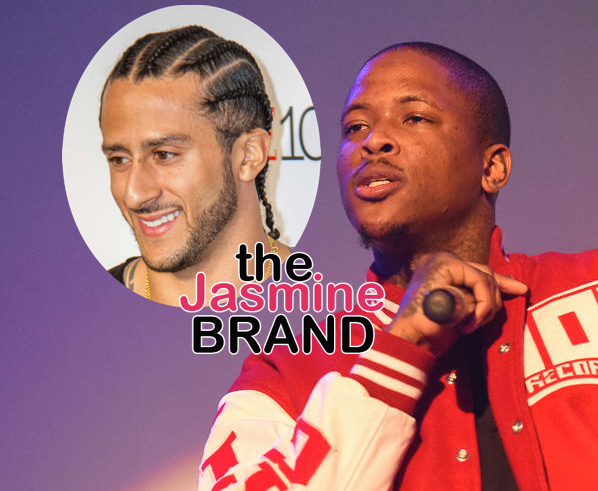 YG – I Support Kaepernick, But I'm NOT Protesting the NFL: I'm A Sports N*gg*