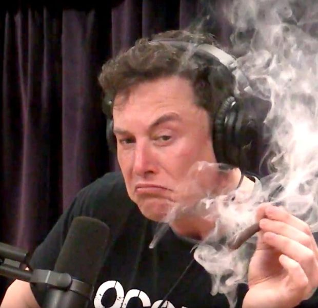 """Elon Musk Smokes Weed After Saying """"Weed Is Not Helpful For Productivity"""""""