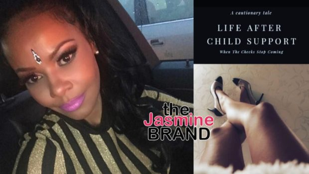 "Nas' Baby Mama Carmen Bryan Pens New Book ""Life After Child Support"""