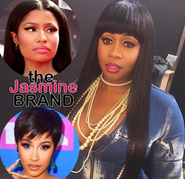 Remy Ma Shares Her Thoughts On Cardi B & Nicki Minaj's Fight
