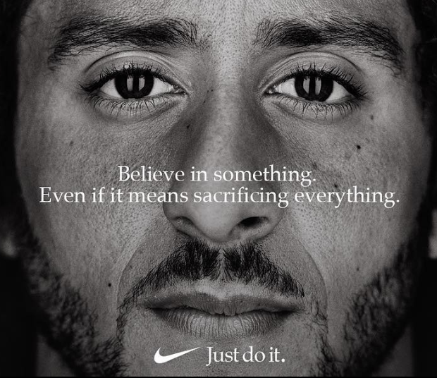 "Colin Kaepernick Sends Powerful Message As Face Of Nike's ""Just Do It"" 30th Anniversary Campaign"