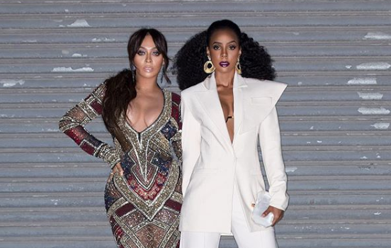 Kelly Rowland & Lala Are Flawless In George Keburia & Naeem Khan at NYFW [Celebrity Fashion]