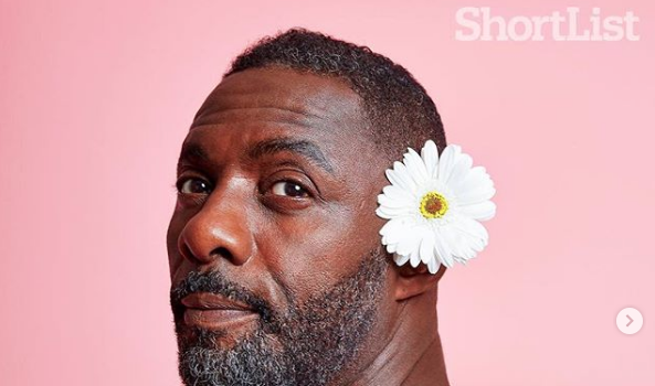 Idris Elba Has A Flower Party In New Shoot [Photos]