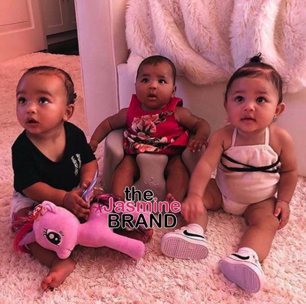 "Kardashian's Offspring Are Insanely Adorable"" Chicago West, True Thompson & Stormi Webster"