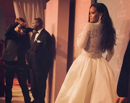 Rihanna's 4th Annual Diamond Ball: Issa Rae, Lala, Donald Glover, Gucci Mane, Tiffany Haddish Attend [Photos]