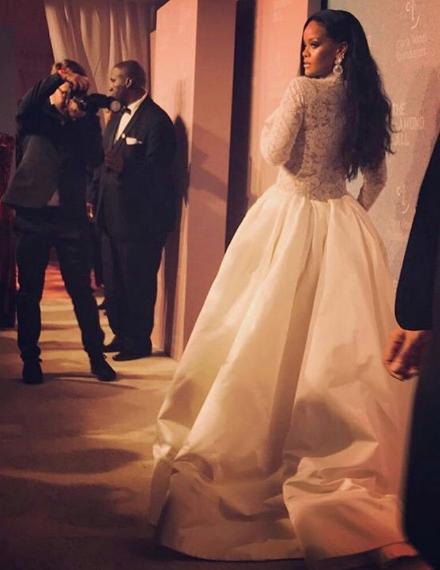 Rihanna's 4th Annual Diamond Ball: Issa Rae, Lala, Donald Glover, Gucci Mane, Tiffany Haddish Attend [Photos]
