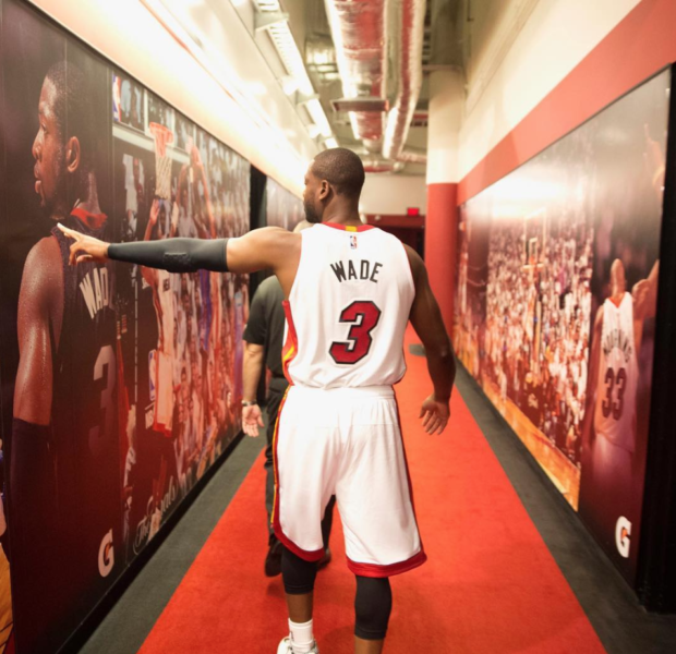 Dwyane Wade Says Goodbye W/ Triple-Double In Final NBA Game