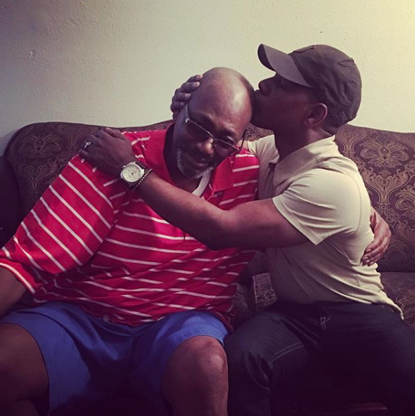 Kirk Franklin Reconnects w/ Father Who Has 3 to 6 Months To Live