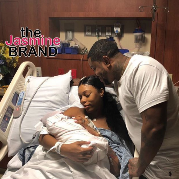 LHHAtl's Bambi & Scrappy Welcome Baby Boy [Photos]