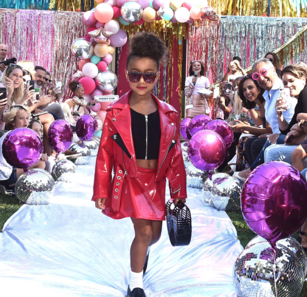 North West Walks In Her Very First Fashion Show [VIDEO]