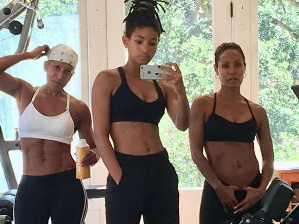 Jada Pinkett Smith's Teen Daughter & 64-Year-Old Mother Are 3 Generations of Fierceness [Photo]