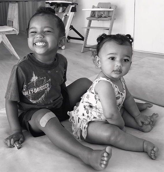 Saint & Chicago West Are Insanely Adorable! [Photos]