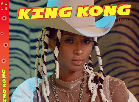 Ciara Serves Cow Girl Vibes In Latest Shoot [Photos]