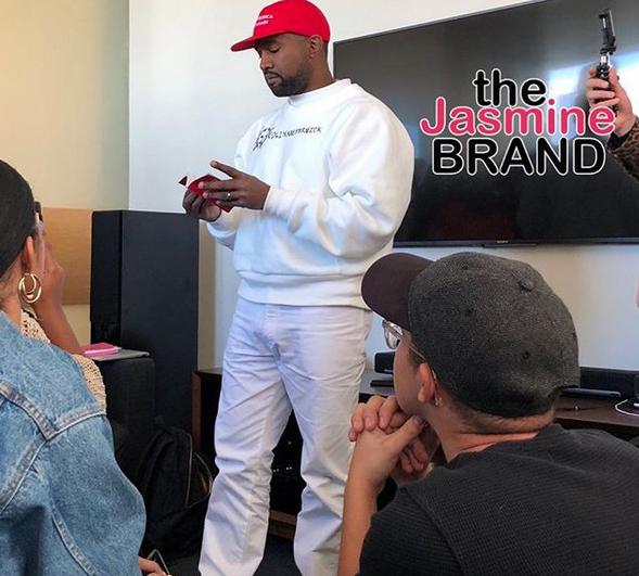 Kanye West Explains Why He's Wearing Pro Trump MAGA Hat Again
