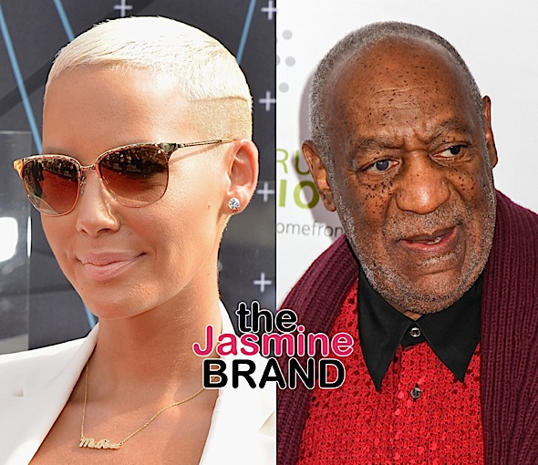 Amber Rose – I Don't Feel Sorry For Cosby Because He's Old, He's A Sexual Predator!