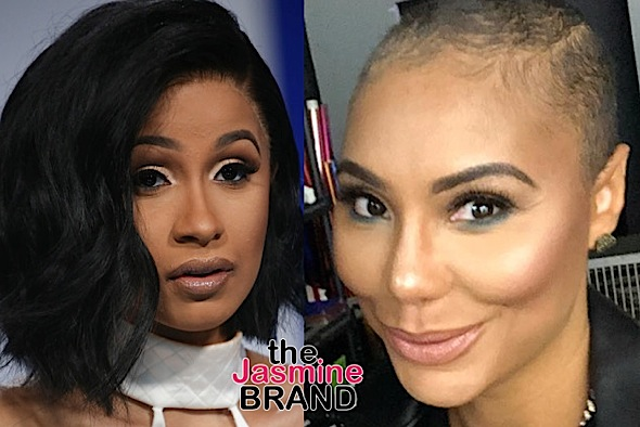 Tamar Braxton Denies Saying Cardi B Is A Bad Mother- Don't Involve Me In No H** Sh*t!