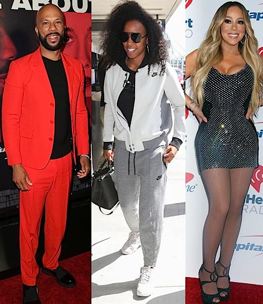 Tyga, Miguel, Iggy Azalea, Common, Kelly Rowland, Mariah Carey [Celebrity Stalking]