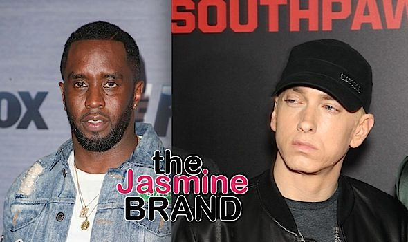 Diddy Plans To 'Deal With Eminem Privately' After Rapper Said He Was Responsible For Tupac's Death