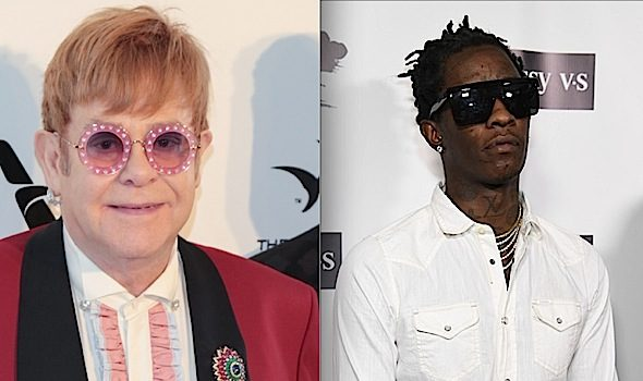 "Elton John Featured On Young Thug's New ""On the Rvn"" EP"