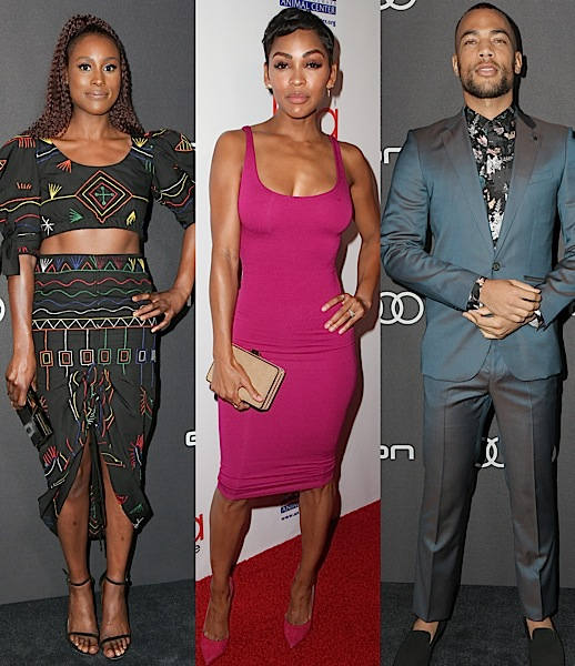 Laverne Cox, Kenya Barris, Lynn Whitfield, Issa Rae, Meagan Good, Kendrick Sampson