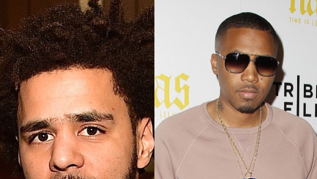"J. Cole Is Hurt By Nas' Domestic Violence Accusations – ""I don't f**k with people abusing women"""