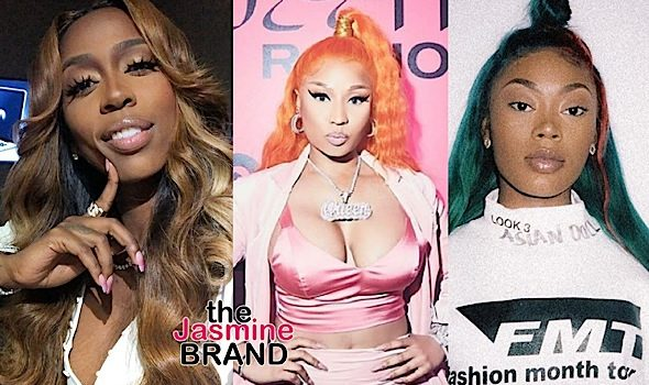 Nicki Minaj Attempts To Help Kash Doll & Asian Doll Squash Their Beef