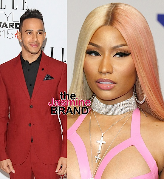 Nicki Minaj & Lewis Hamilton Spotted Vacationing Together In Dubai [VIDEO]