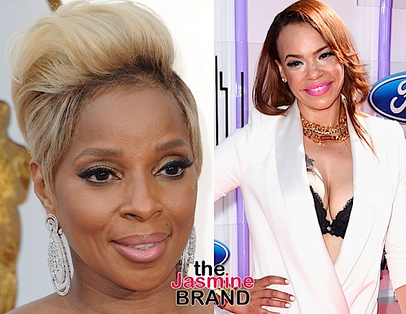 Mary J. Blige Denies Fight With Faith Evans